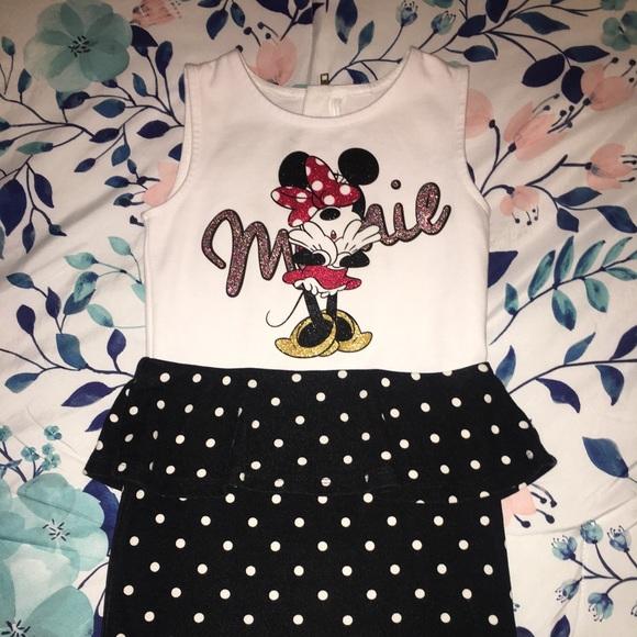 6c11f70787cd1 H&M Dresses - H&M girl's Minnie Mouse dress. H&M Other - H&M girl's Minnie  ...